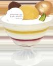 パティスリーカフェ カタシマ豊岡店のレアチーズ写真